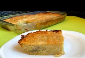 BRZO I JEFTINO Ukusna pita od krompira koja će vas osvojiti