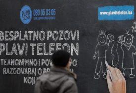 ČET SAVJETOVANJE Plavim telefonom pomoć potražilo 70 djece