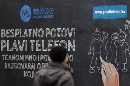 Duplo više POZIVA ZA POMOĆ DJECI nego lani: Plavi telefon produžio radno vrijeme