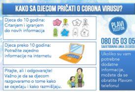 CRTAJTE VIRUSE, GLUMITE KIHANJE I KAŠLJANJEPreporuke kako sa djecom pričati o korona virusu