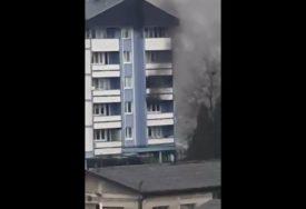 GORJELA POLICIJSKA STANICA U BANJALUCI Zapalio se klima uređaj i izazvao požar (VIDEO)
