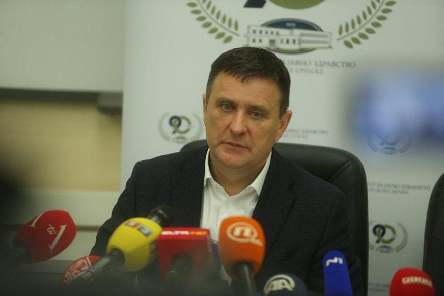 """Đajić o stanju u UKC Srpske """"Zdravlje stanovnika na prvom mjestu"""""""