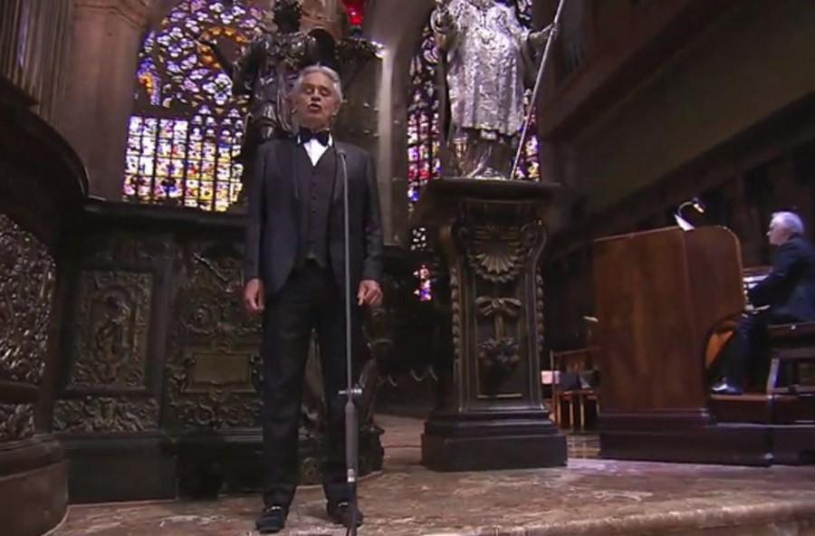 PRIJENOS GLEDAN ŠIROM SVIJETA: Andrea Bocelli pripredio koncert u praznoj milanskoj katedrali