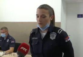 GEST ZA DESET Policajka koja je mami četvoro djece uljepšala Vaskrs dobila POKLON OD MINISTRA