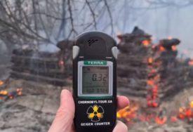 ZASTRAŠUJUĆI VIDEO IZ ČERNOBILJA Požar koji divlja mogao bi da poveća radioaktivnosti