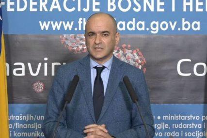 Čerkez: Epidemiološka situacija u FBiH se stabilizuje