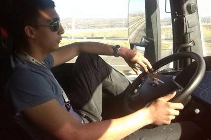 Miloš, junak sa drumova: Dok traje pandemija dan i noć prevozi hranu i lijekove