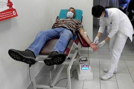 HUMANITARNA AKCIJA U TREBINJU Krv dalo 30 demobilisanih boraca