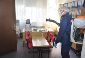 """""""GRAĐANIMA SMO NA USLUZI"""" Nastavlja se akcija dezinfekcije javnih površina i ustanova"""