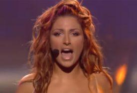 BUCNULA SE Grkinja je vatrenim nastupom na Evroviziji RASPAMETILA, sada je potpuno drugačija