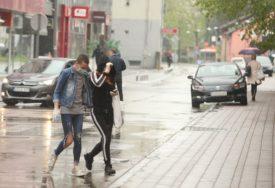 HLADNO USRED LJETA Narednih dana nestabilno vrijeme sa kišom