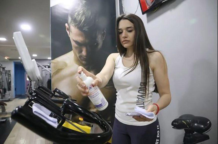 Usljed epidemiološkog zaključavanja: Fitnes centri izgubili 30 odsto svojih klijenata
