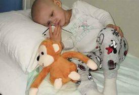 HANI JE POTRBENA NAŠA POMOĆ Opaka bolest po treći put napada iscrpljeno tijelo djevojčice