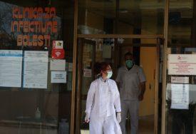 ZA DAN 54 NOVA PACIJENTA Zbog korone na bolničkom liječenju 414 ljudi u Srpskoj