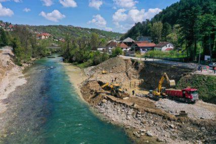 ZA SEDAM DANA SPREMNI TEMELJI Napreduje gradnja novog mosta u Srpskim toplicama