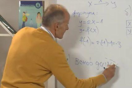 Nastava na daljinu uz SRPSKAINFO: Sedmaci računali površinu pravougaonika (VIDEO)
