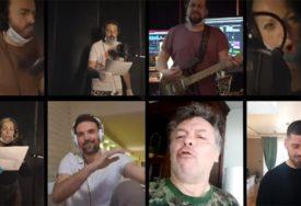 PODRŠKA VOLONTERIMA Poznati glumci, muzičari, novinari i sportisti iz karantina snimili pjesmu (VIDEO)
