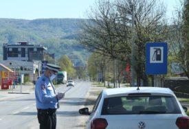 PISAO KAZNU, A I SAM KRŠIO PROPIS Postupak protiv policajca zbog nepravilnog korištenja maske
