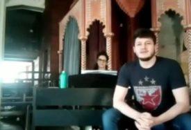 ODGOVORIO NA KORONA IZAZOV Stefan je ovako otpjevao Čolinu pjesmu i oduševio (VIDEO)