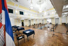 OČEKUJE SE DOLAZAK ODBORNIKA Banski dvor spreman za vanrednu sjednicu Skupštine grada