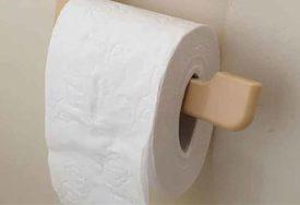JEDNOSTAVAN TRIK ŠTEDI NOVAC Ova mama zna kako da toalet papir traje mnogo duže