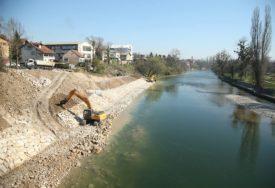 SPRIJEČENO DALJE URUŠAVANJE Sanirano klizište kod Zelenog mosta