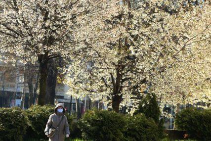 Proljeće pokazuje svoje čari: Danas u BiH pretežno sunčano