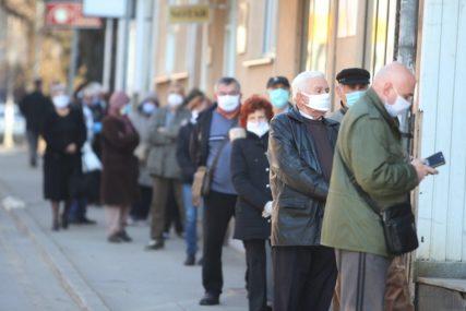 Od sutra isplata novčane pomoći penzionerima: Dobijaju po 50 i 80 KM