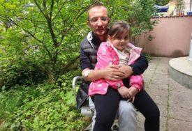 POTREBNA JE POMOĆ DOBRIH LJUDI Petogodišnjoj Ilhani i njenom ocu Jasminu otkazuju bubrezi