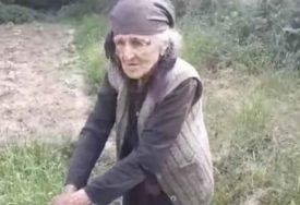 MRŠAVA BAKA UPALIH OBRAZA Priča o starici koju život uopšte nije mazi TJERA SUZE NA OČI (VIDEO)