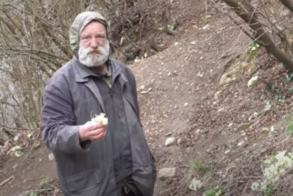 KAO ROBINZON KRUSO Žarko živi u pećini 11 godina, nikada se nije razbolio (VIDEO)
