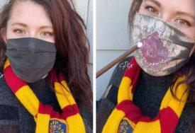 Studentkinja napravila masku koja se prilikom disanja mijenja u TAJNU MAPU HOGVORTSA
