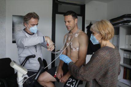 MEDICINSKI PREGLEDI U PARTIZANU Svi fudbaleri testirani na korona virus