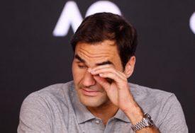 NEDOSTAJE MU MOTIVACIJA Federer ne trenira, a da li će se vratiti na teren?