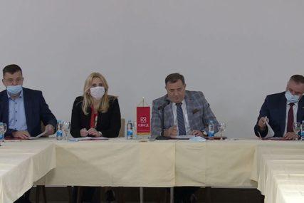 """CILJ 80 ODSTO GLASOVA"" Cvijanovićeva ističe da je SNSD spreman za lokalne izbore"