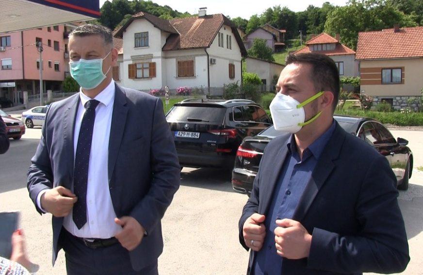 NEŠIĆ POSJETIO RADILIŠTE Izgradnja magistralnog puta Doboj-Šešlije-Modriča