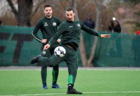 NAPADAČ MILANA SE OPRAVLJA Ibrahimović SE VRAĆA na teren u meču protiv Juventusa