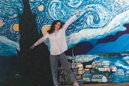 ZVIJEZDE S NEBA NA ZIDU SOBE Nagrađen mural mlade Trebinjke, naslikan za vrijeme pandemije