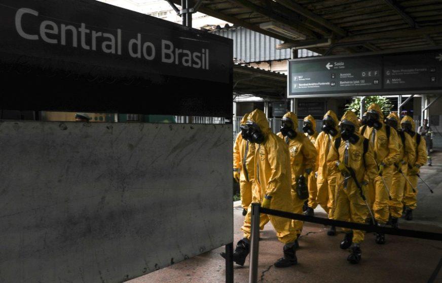 POZITIVNO VIŠE OD 5,23 MILIONA LJUDI U SVIJETU Brazil prestigao Rusiju na drugom mjestu po broju zaraženih