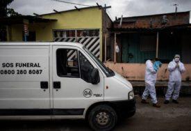 SVE TEŽA SITUACIJA U BRAZILU Za dan 20.000 oboljelih od virusa korona