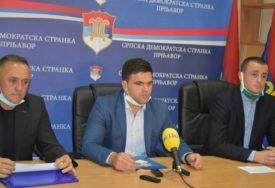 """VASIĆ PORUČIO """"Sa Aleksićem i Petrovićem na čelu ostvarićemo pobjedu u Prnjavoru"""""""
