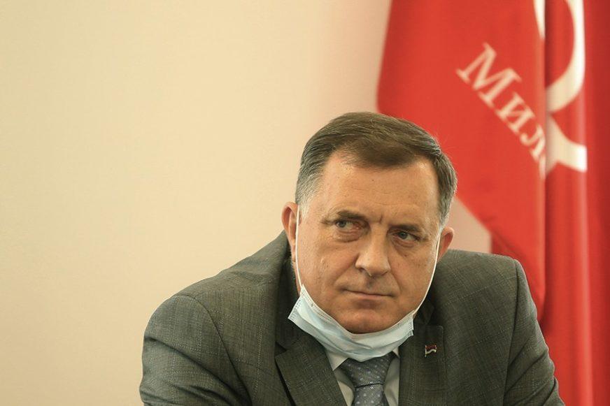 """""""BESMISAO BiH"""" Dodik istakao da je nedopustivo koristiti kapacitete Predsjedništva za privatne razgovore"""