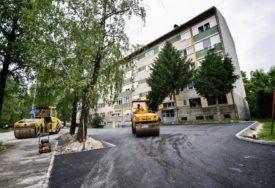 ASFALTIRAN PARKING U OBILIĆEVU Naredni radovi u Bulevaru Stepe Stepanovića