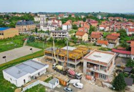 Radovi na Petrićevcu: Gradnja ambulante pri kraju, vrtić pod pločom