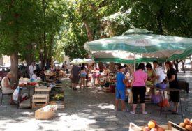 POČINJE DA RADI GRADSKA PIJACA Od sutra na tezgama u Trebinju samo domaći proizvodi