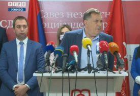SASTANAK IZVRŠNOG KOMITETA SNSD Dodik: Potpisali smo koalicioni sporazum sa SPS