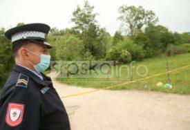PATROLE NA SVE STRANE Policija blokirala put do kuće ubijenog Slaviše Ćuluma (FOTO)