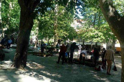 POŠTUJU SE PROPISANE MJERE U Trebinju počela da radi gradska pijaca