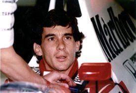 USPOMENA NA LEGENDU Sena je i danas jedan od najomiljenih vozača F1