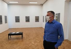 ZA IZGRADNJU DNEVNOG CENTRA Humanitarna izložba i prodaja slika u Prijedoru